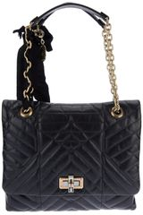 Lanvin Happy Quilted Tote - Lyst