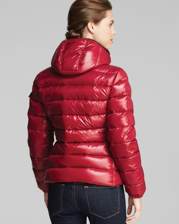 moncler red bady jacket