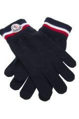 Moncler Knitted Gloves - Lyst