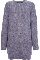Cedric Charlier Speckled Knit Jumper - Lyst
