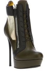Gianmarco Lorenzi Lace Up Boot - Lyst