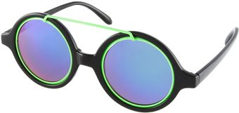 House Of Holland Cloud Round Sunglasses - Lyst