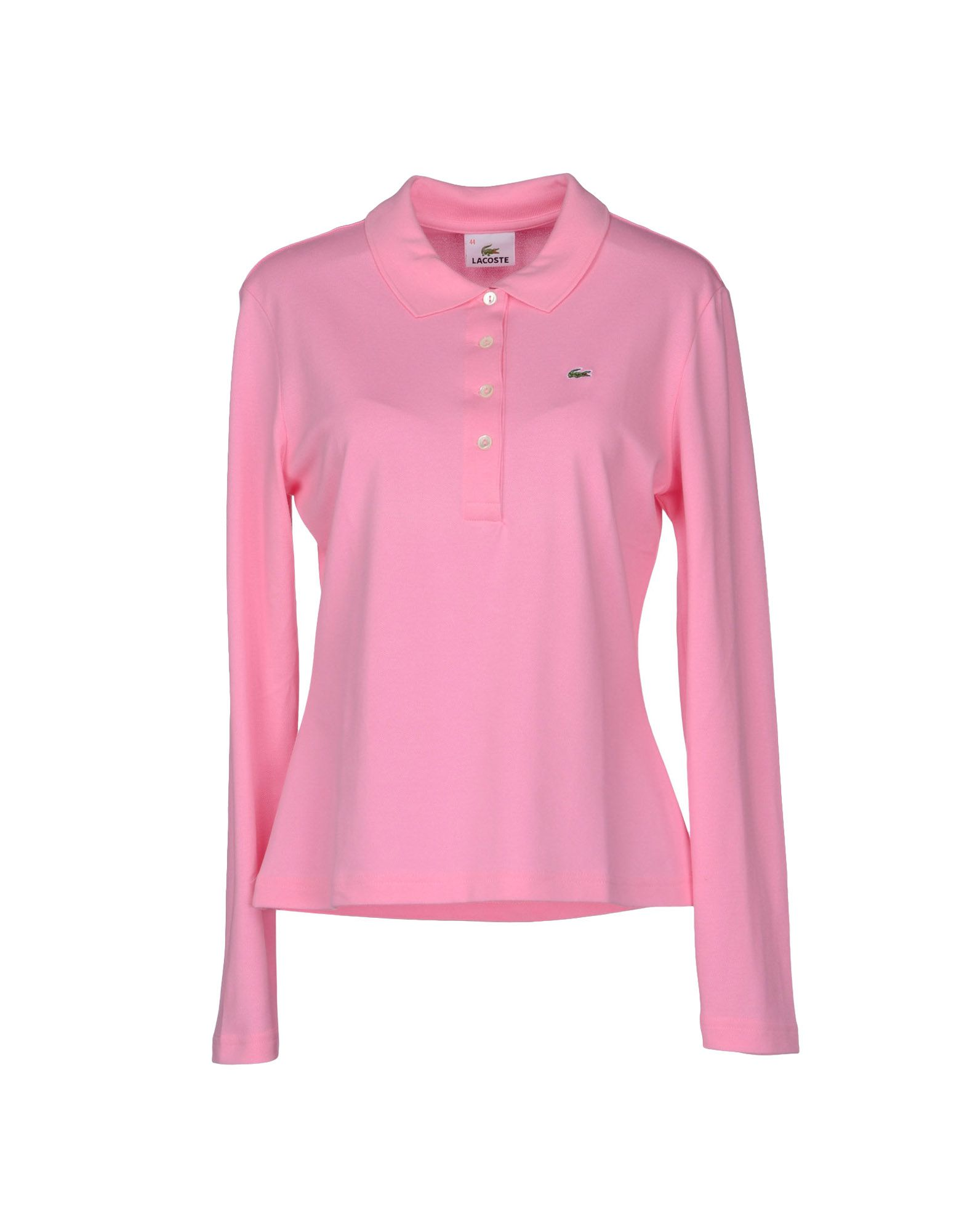 Lacoste Polo Shirt in Pink | Lyst
