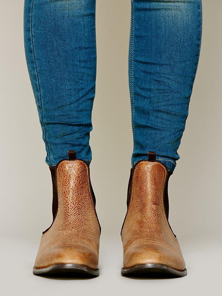 liebeskind remington chelsea boot in brown lyst. Black Bedroom Furniture Sets. Home Design Ideas