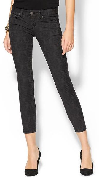 Free People Washed Vintage Jacquard Pant - Lyst
