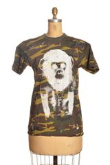 Simeon Farrar Camo Tshirt with Ape Heart By - Lyst