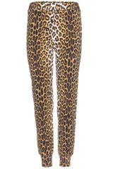 3.1 Phillip Lim Leopardprint Cotton Trousers - Lyst