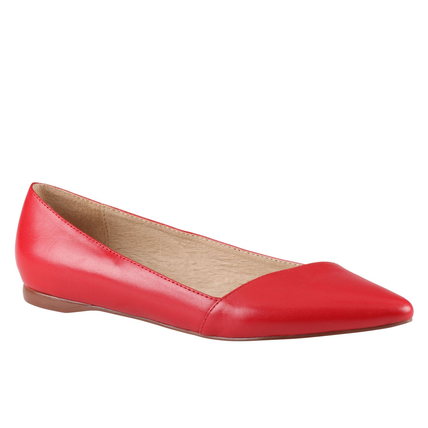 Aldo Dobrus Ballerina Shoes in Red | Lyst