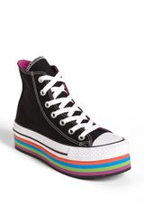 Converse Chuck Taylor All Star Platform High Top Sneaker - Lyst