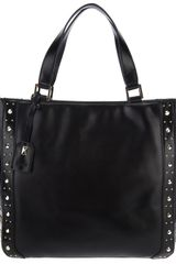 DKNY Studded Shopper - Lyst