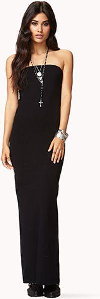 black tube dress forever 21 - photo #7