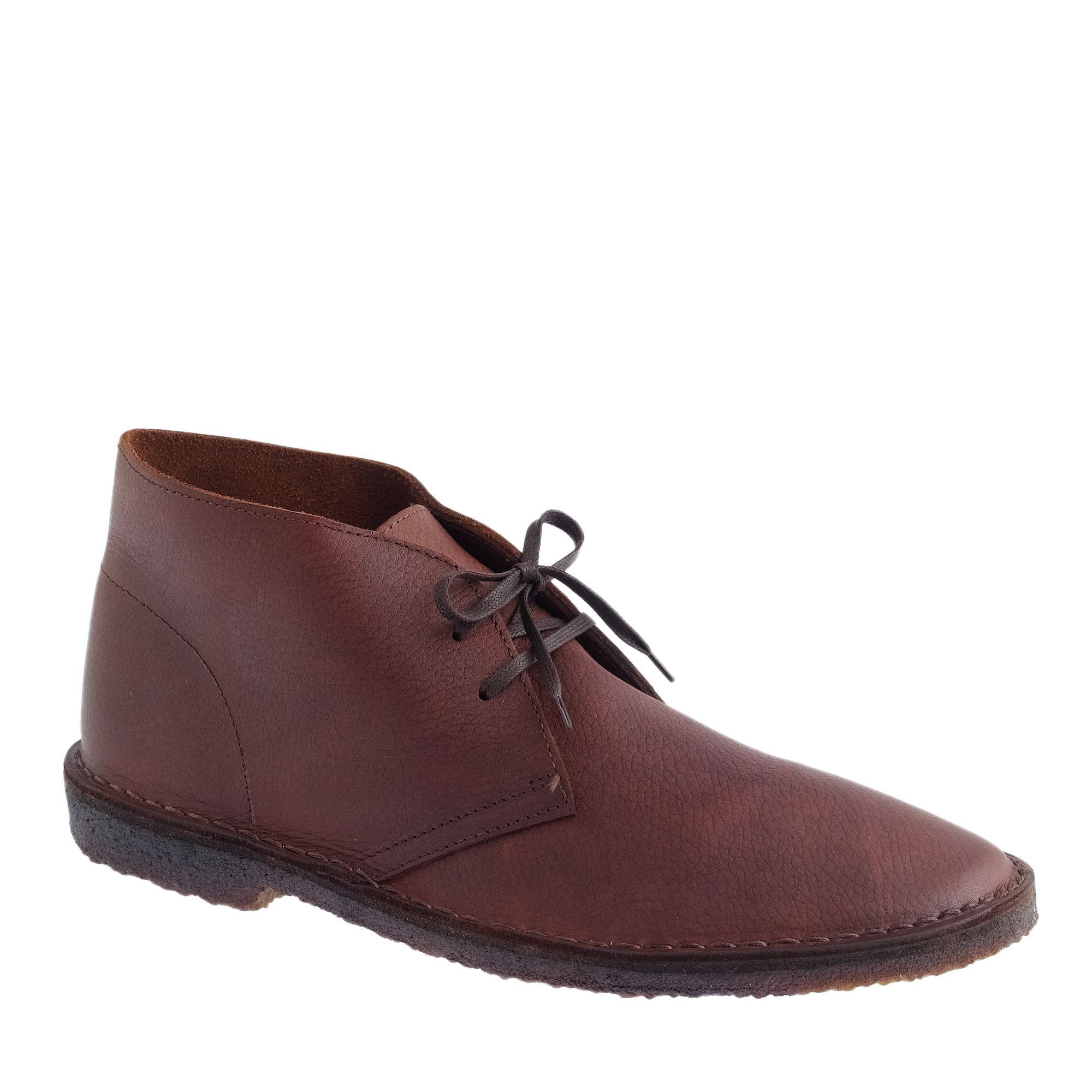 j crew classic macalister boots in leather in brown