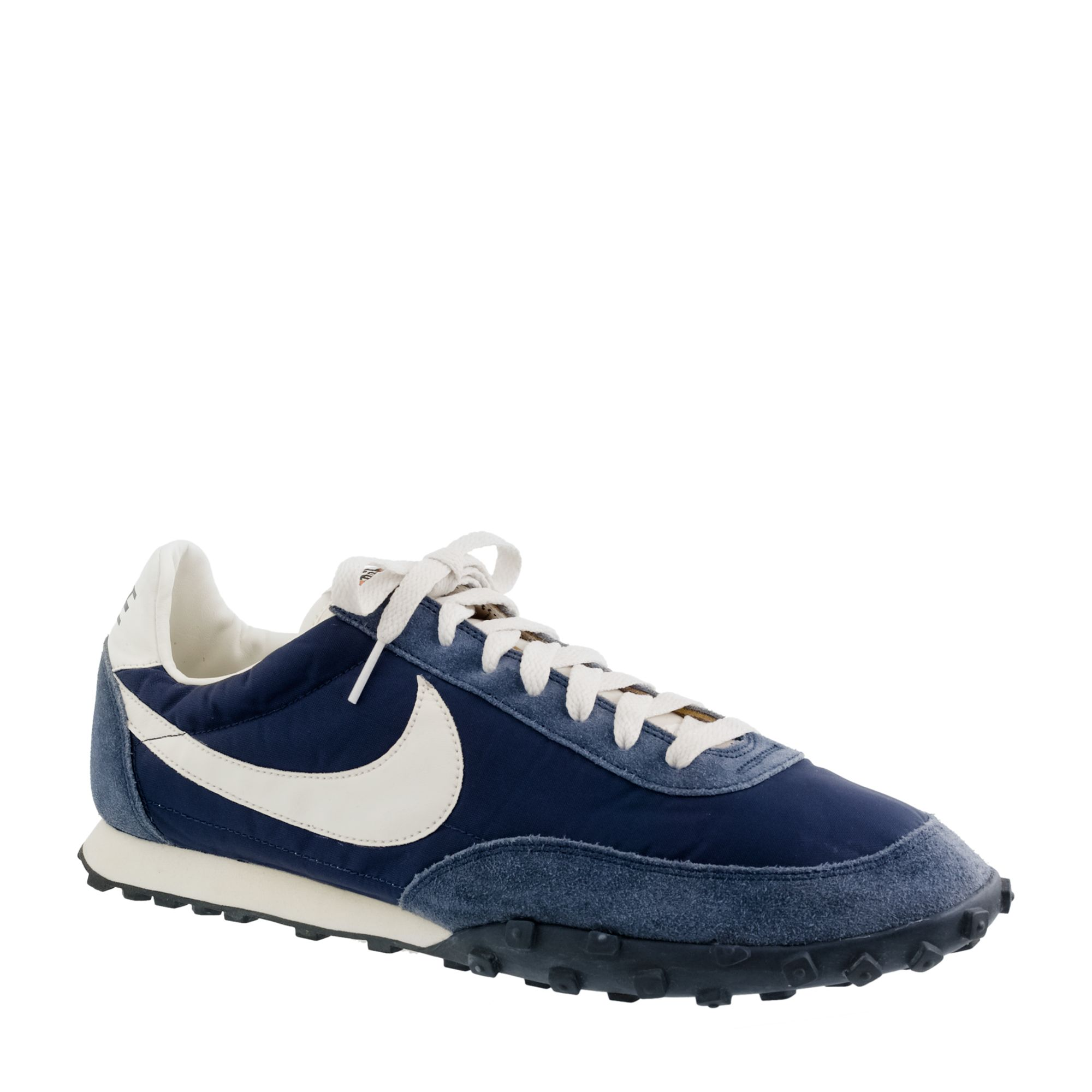 J.crew Unisex Nike® Vintage Collection Waffle® Racer Sneakers in Blue for Men (navy) | Lyst