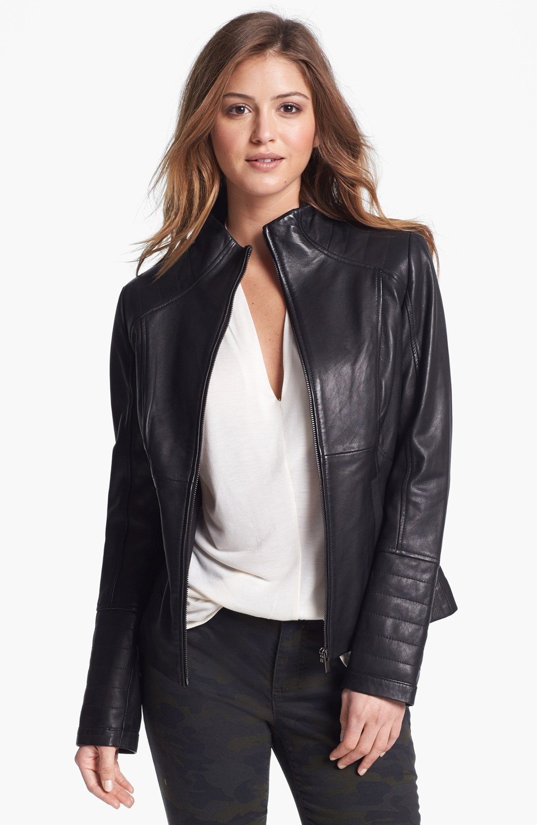Ladies petite leather jackets