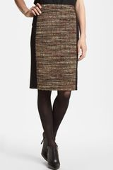 Lafayette 148 New York Christina Eccentric Tweed Skirt - Lyst