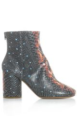 Maison Martin Margiela Milky Way Leather Ankle Boots - Lyst