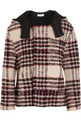 Marni Bouclé tweed Hooded Jacket - Lyst
