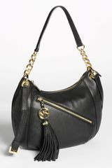 Michael by Michael Kors Charm Tassel Convertible Shoulder Bag Medium - Lyst