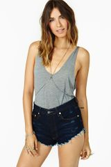 Nasty Gal Shark Tooth Body Chain - Lyst