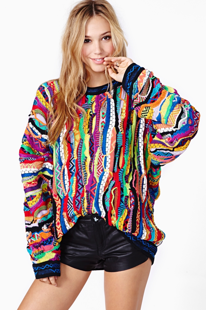 Lyst Nasty Gal Brooklyn Coogi Sweater