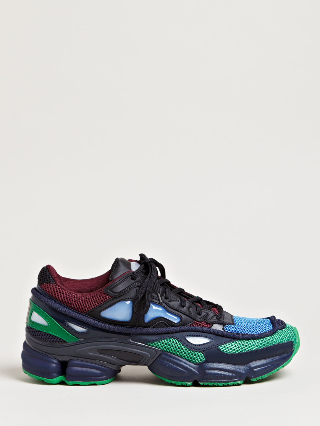 raf simons mens ozweego 2 running sneakers in multicolor for men blue lyst. Black Bedroom Furniture Sets. Home Design Ideas