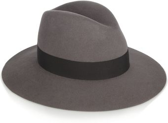 Saint Laurent Fedora - Lyst