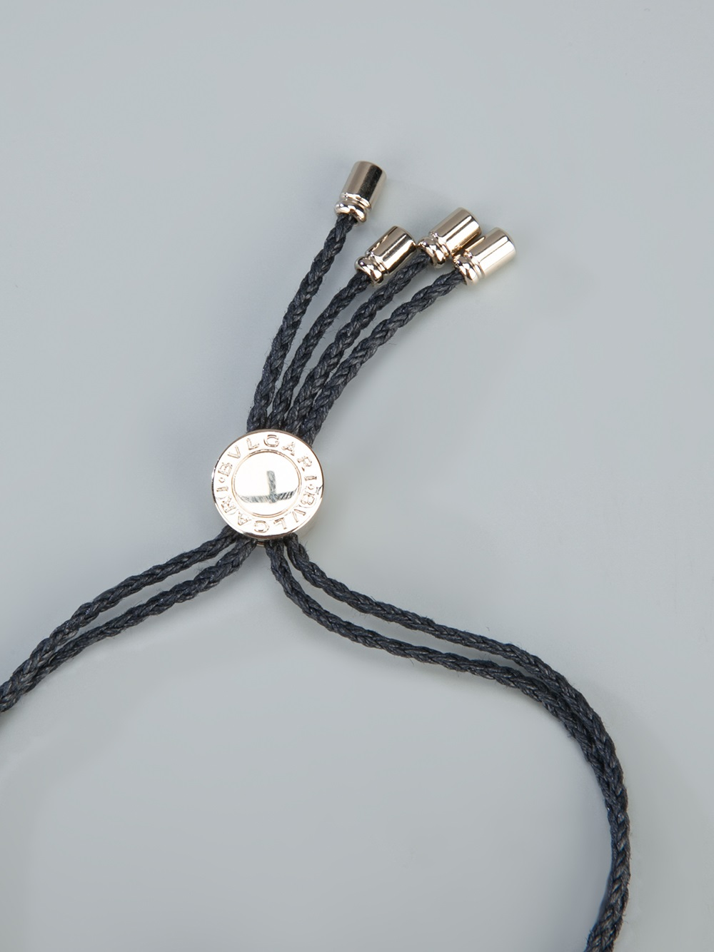 Lyst Bvlgari Charm Bracelet In Black For Men