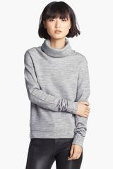 J Brand Ready-to-wear Zhou Turtle Neck Sweatshirt - Lyst