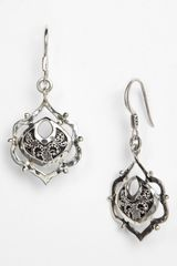 Lois Hill Small Granulated Drop Earrings - Lyst