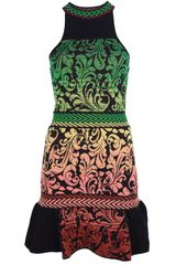 M Missoni Printed Sleeveless Dress - Lyst