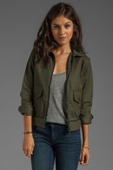 Rag & Bone The Pump Jacket in Army - Lyst