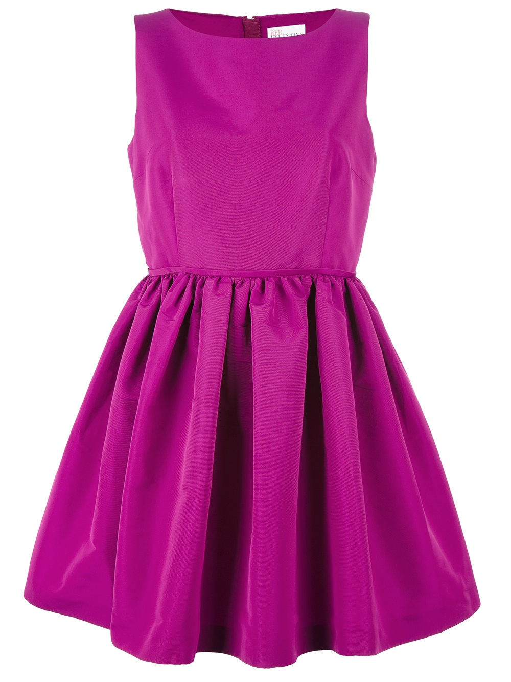 Lyst - Red Valentino Fit and Flare Cocktail Dress in Purple