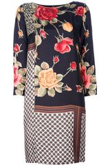 Antonio Marras Printed Dress - Lyst