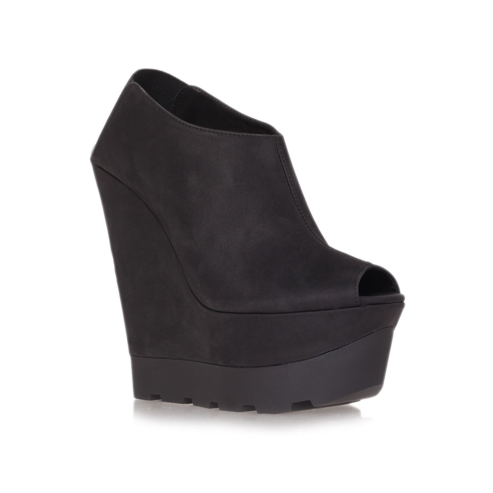 Kurt geiger grace high heel wedge, court shoes, high (80mm and above
