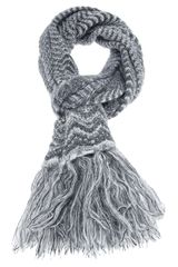 Missoni Scalloped Knit Scarf - Lyst