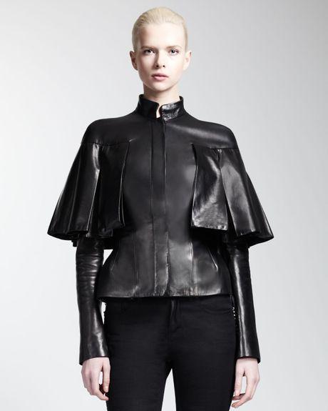 Capelet Jacket