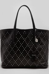 Alexander McQueen Studded Padlock Medium Shopper Tote Bag Black - Lyst