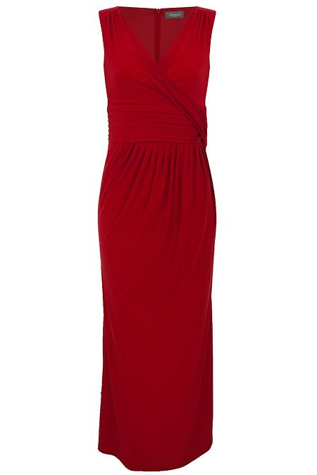 Raise the temps in this red dress edit. For the ultimate boss-babe vibe, reach for the red dress to get those pulses racing. We're all about demanding attention in a red mini dress with harness detailing, keeping it real in a floor length red maxi for a prom qween feel and adding some flamenco fusion in a ruffled midi dress with frill detailing.