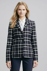 Alice + Olivia Alice Olivia Savetta Plaid Jacket - Lyst