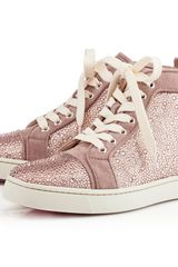 Christian Louboutin Louis Woman Strass - Lyst