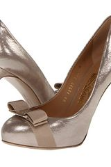 Ferragamo Rilly in Gold (silver) - Lyst