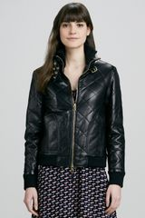 Marc By Marc Jacobs Kent Quilted Leather Jacket - Lyst