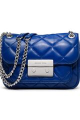 Michael by Michael Kors Small Sloan Quilted Shoulder Bag - Lyst