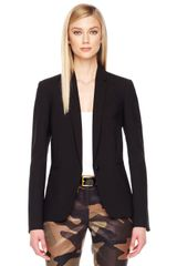 Michael Kors Stretch Wool Blazer - Lyst
