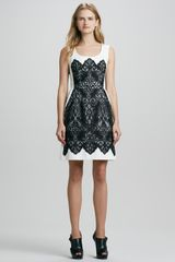 Nanette Lepore Kissing Booth Lacepanel Dress - Lyst