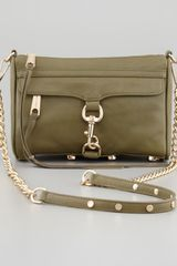 Rebecca Minkoff Mini Mac Crossbody Bag Fern - Lyst