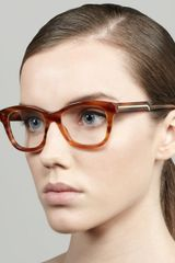 Stella McCartney Oversized Rounded Square Frame Fashion Glasses  - Lyst
