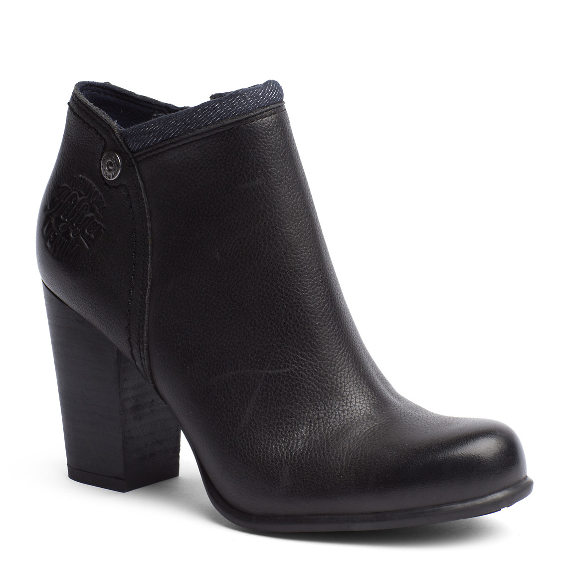 tommy hilfiger jade ankle boots in black lyst. Black Bedroom Furniture Sets. Home Design Ideas