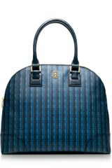 Tory Burch Robinson Printed Dome Satchel - Lyst