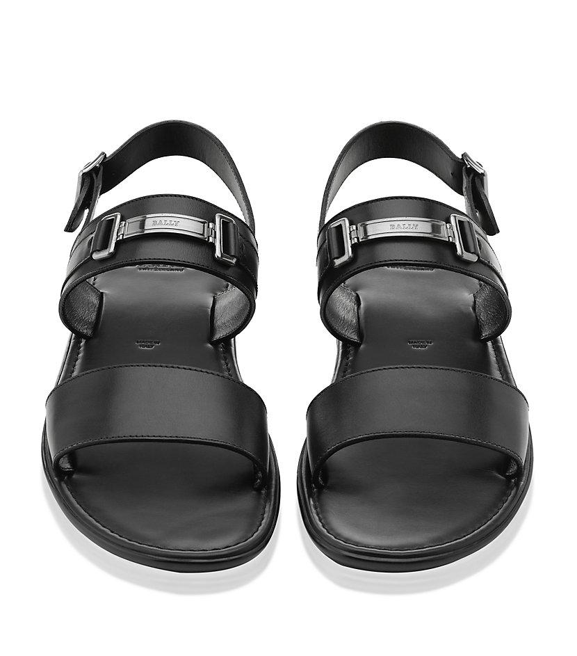 509d9074e Bally Braldo Sandal in Black for Men - Lyst